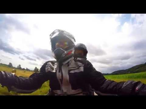 Europe Motorbike Tour 2016  - Full Video