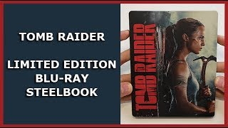TOMB RAIDER - LIMITED BLU-RAY STEELBOOK UNBOXING - SATURN EXCLUSIVE