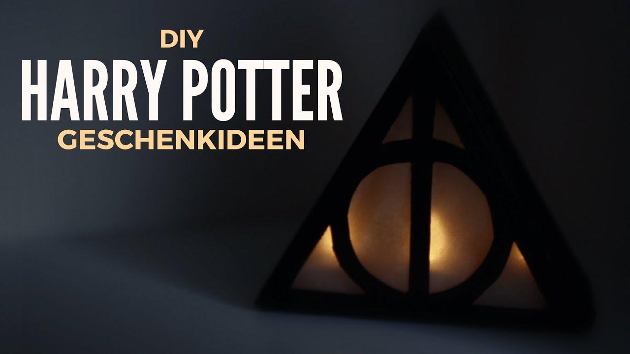 Diy Geschenkideen Fur Harry Potter Fans Youtube