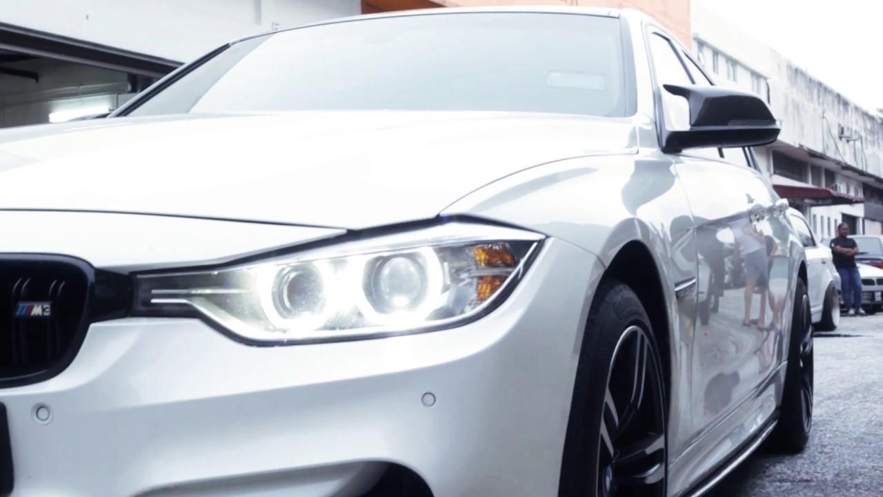 Bmw F30 Interior Carbon Fiber Accesories Youtube