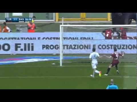 Goal Bruno Peres ~Torino FC 1-1 US Sassuolo~