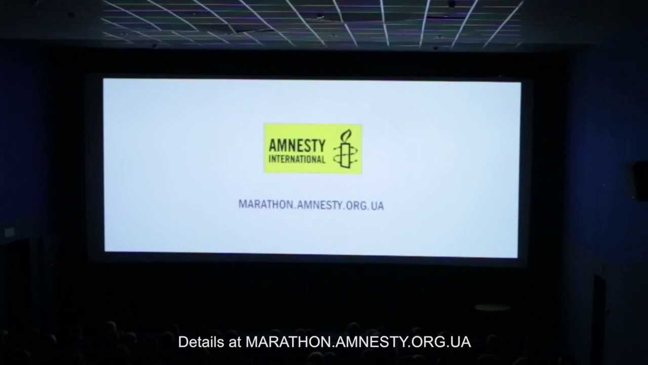 Amnesty International Stages A Kidnapping In A Kiev Movie Theater