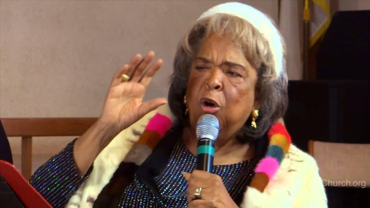 """ A Commandment"" sermon Minister Della Reese Up Church ...  "" A Comman..."