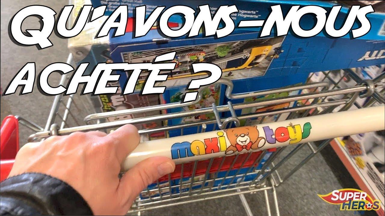 Héros Toys De Jouets 2018 Qu'avons Super Et Kids Compagnie Acheté Shopping Chez Noel Nous Maxi vNwmnO80
