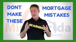 3 Mortgage Mistakes That Will Cost you BIG | Orlando and Oviedo Best Mortgage Broker Rayce Robinson