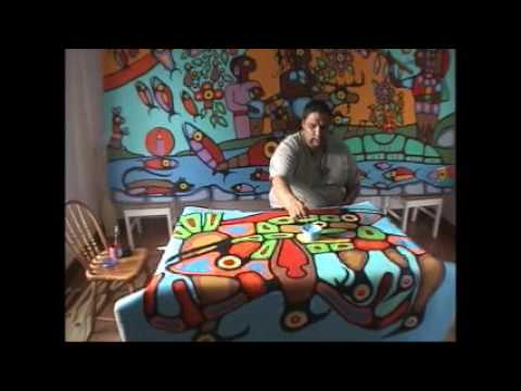 Christian Morrisseau Talks About Family and Woodland Art