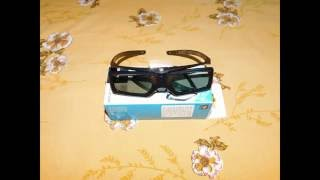 Sony TDG-BT500A Active 3D Glasses Unboxing