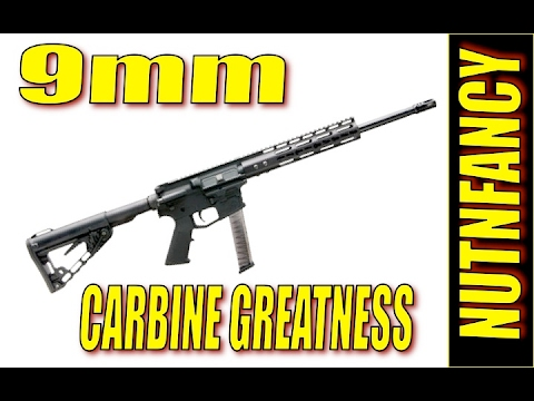 Why buy a Colt when you can have this? Milsport 9mm Carbine