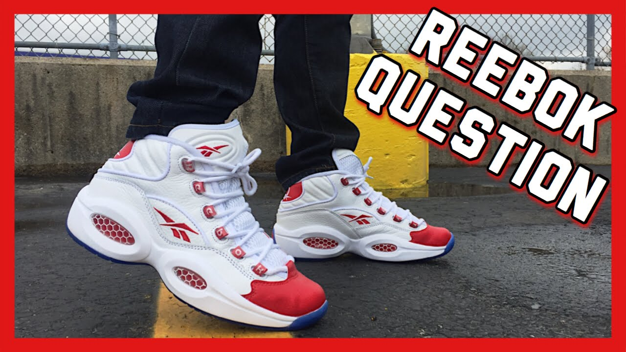 ON FEET  Reebok Question Mid - YouTube 3aceb97ea