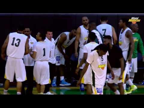 Miami Midnites vs Jacksonville Giants ABA Basketball Highlights 1/7/16