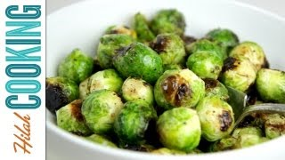 How To Roast Brussels Sprouts | Hilah Cooking