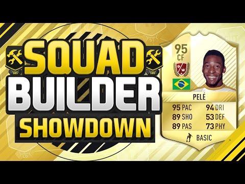 FIFA 17 SQUAD BUILDER SHOWDOWN!!! LEGEND PELE VS THE CHEAP PELE!!! Legend Pele Squad Duel