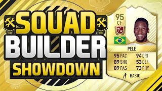 FIFA 17 SQUAD BUILDER SHOWDOWN!!! LEGEND PELE VS THE CHEAP PELE!!! Legend Pele Squad Duel