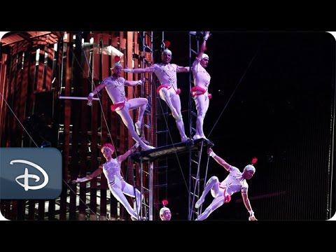 La Nouba - Trapeze POV | Cirque du Soleil | Walt Disney World