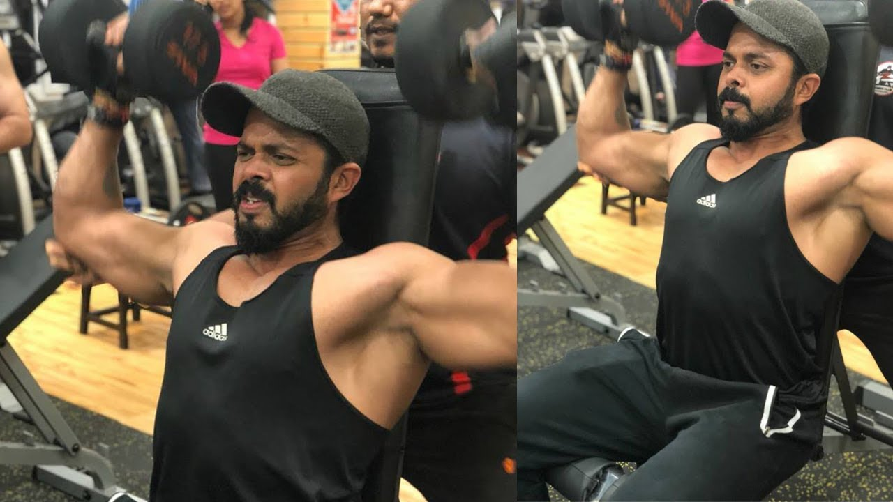 Sreesanth Gallery: Indian Cricketer S. Sreesanth Hard Work Out In Mangalore