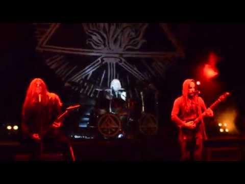 Behemoth – At The Left Hand Ov God \ Live at Carpathian Alliance 2014, Ukraine