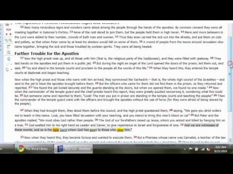 theWord Bible Software (3 of 4): General Use