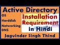 Active Directory Installation Requirements - Server 2008 Active Directory Part 16