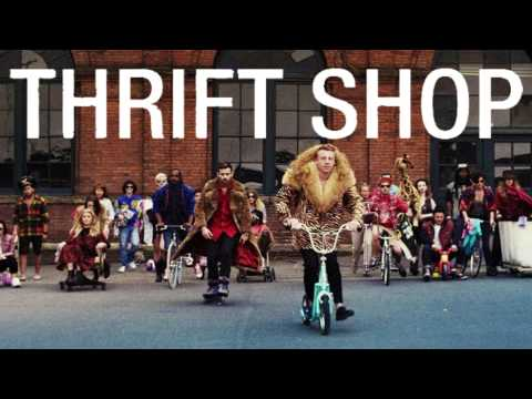 MACKLEMORE & RYAN LEWIS -  THRIFT SHOP (MP3 Version)