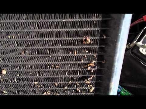My AC works till I stop and then blows hot. How to fix it.