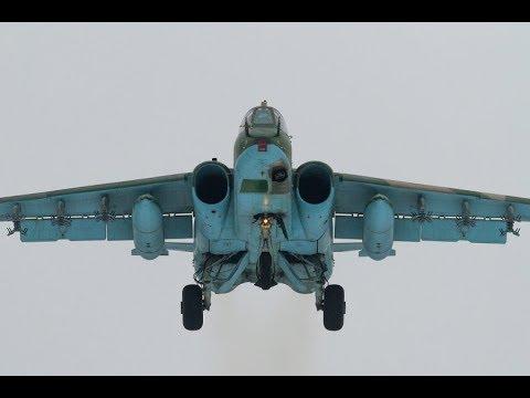 SU-25 FROGFOOT FLYING
