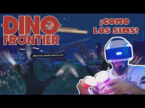 PlayStation VR Demo | DINO FRONTIER | SIMS + RAPTORES 😱