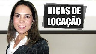 Dicas de Locação - Marina Maria Bandeira de Oliveira