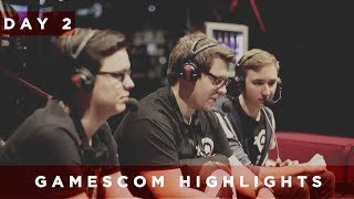 gamescom 2017 | Day 2 Highlights | TaKeTV