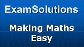 Geometric Series / Sequence : Example (2) : ExamSolutions