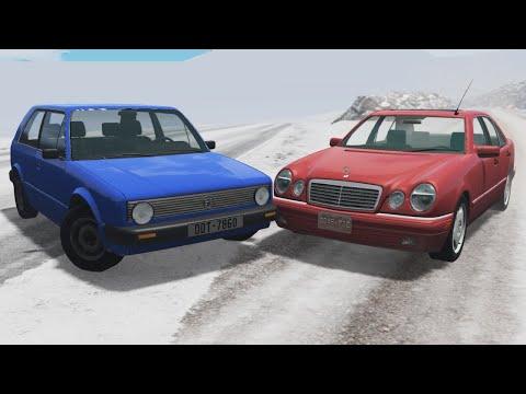 Realistic Car Crashes 44 - BeamNG Drive |