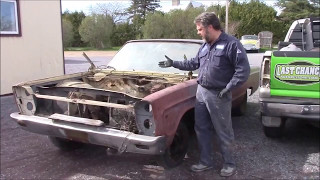 1965 Plymouth Sport Fury Update, Engine Bay Area,  lastchanceautorestore com