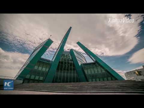 Chinese companies build Kazakhstan's first light rail link