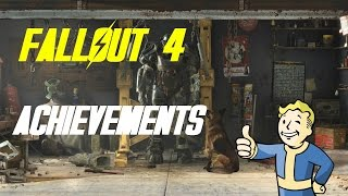 Fallout 4 - EVERY Achievement Leaked!