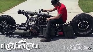 Twin Turbo Diesel AWD Motorcycle (Bike & Builder episode 2)