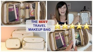 THE BEST TRAVEL MAKEUP BAGS!