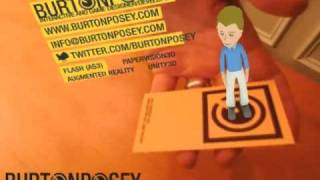 Augmented Reality Business Card - Avatar Concept