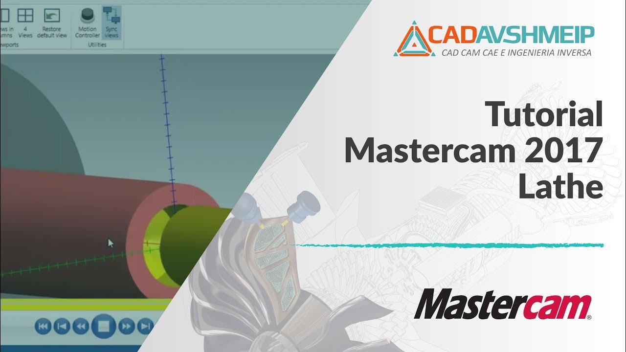 tutorial mastercam 2017 lathe youtube rh youtube com manual do mastercam em portugues