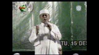 [ 15 Desember 2012 ] Tausiyah KH. Nur Muhammad Iskandar SQ ~ Majelis Maulid Riyadlul Jannah