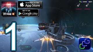 Galaxy On Fire 3: Manticore iOS Walkthrough - Gameplay Part 1 - Act 1: The Shattering