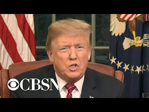Trump says border wall will 'pay for itself' in Oval Office address