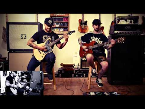 "Insvrgence ""Mafia Wives"" Guitar Playthrough"