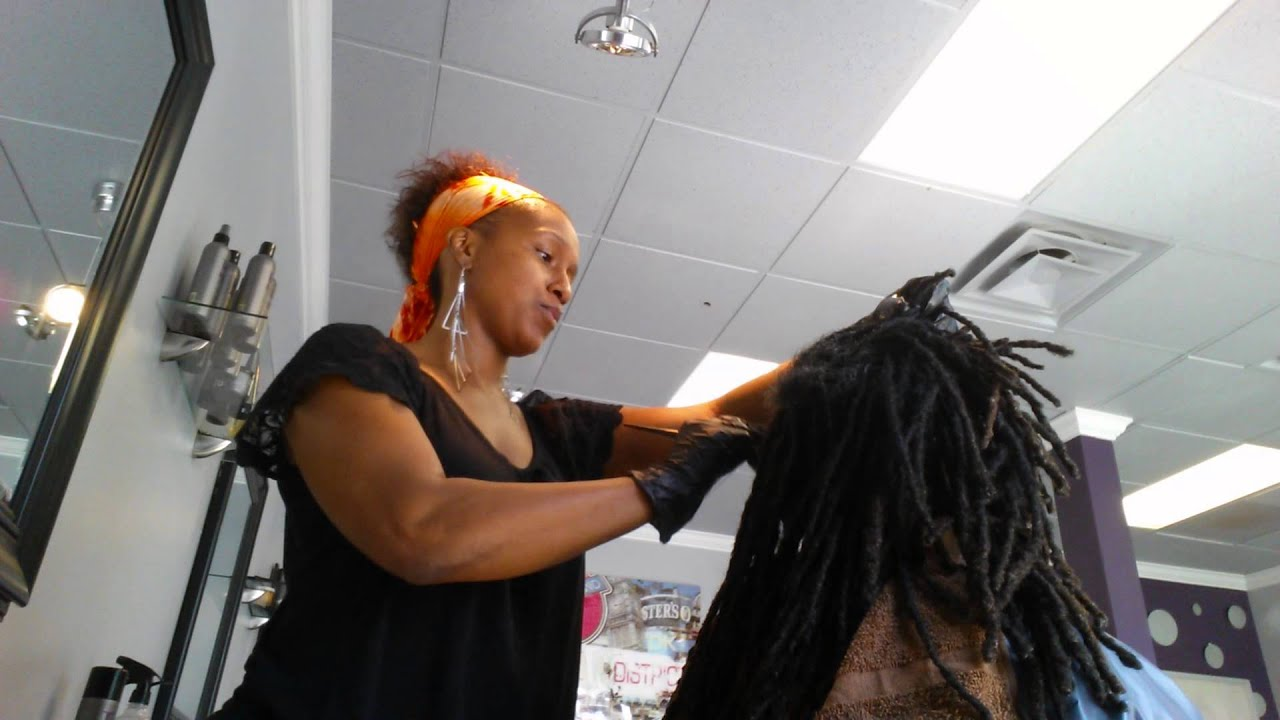 Tips For Coloring Locs Dreadlocks Amp Color Youtube