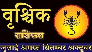 vrishchik scorpio rashi   july   august   September   October   rashifal in hindi   2019