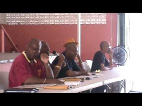 TRINIDAD AND TOBAGO UNION LEADER MAKES CLASS ANALYSIS