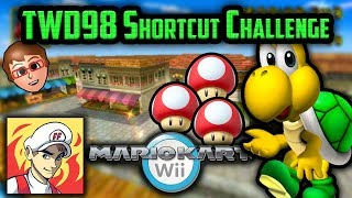 Mario Kart Wii Shortcuts - FearsomeFire vs TWD98 Shortcut Challenge: Basic