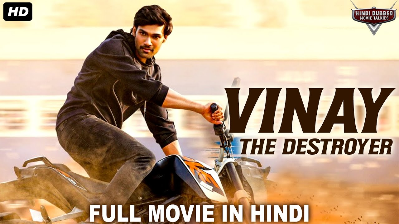 VINAY THE DESTROYER Hindi Dubbed Action Romantic Movie | South Indian Movies Dubbed In Hindi Full HD
