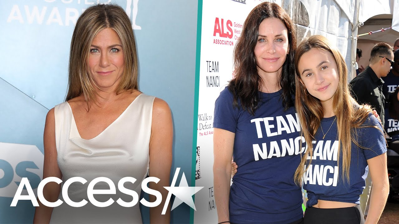 Jennifer Aniston Gives Bday Shout Out To Courteney Cox's Daughter