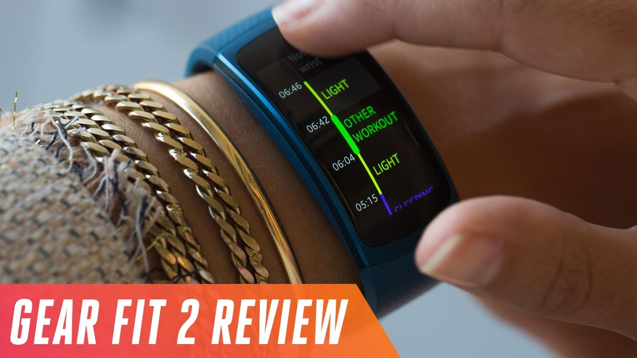 samsung gear fit 2 activity tracker review youtube