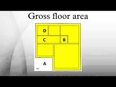 Gross floor area youtube for Work out floor area