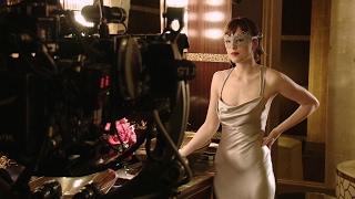 Go Behind The Scenes on FIFTY SHADES DARKER with Dakota Johnson & Jamie Dornan + MOVIE CLIPS